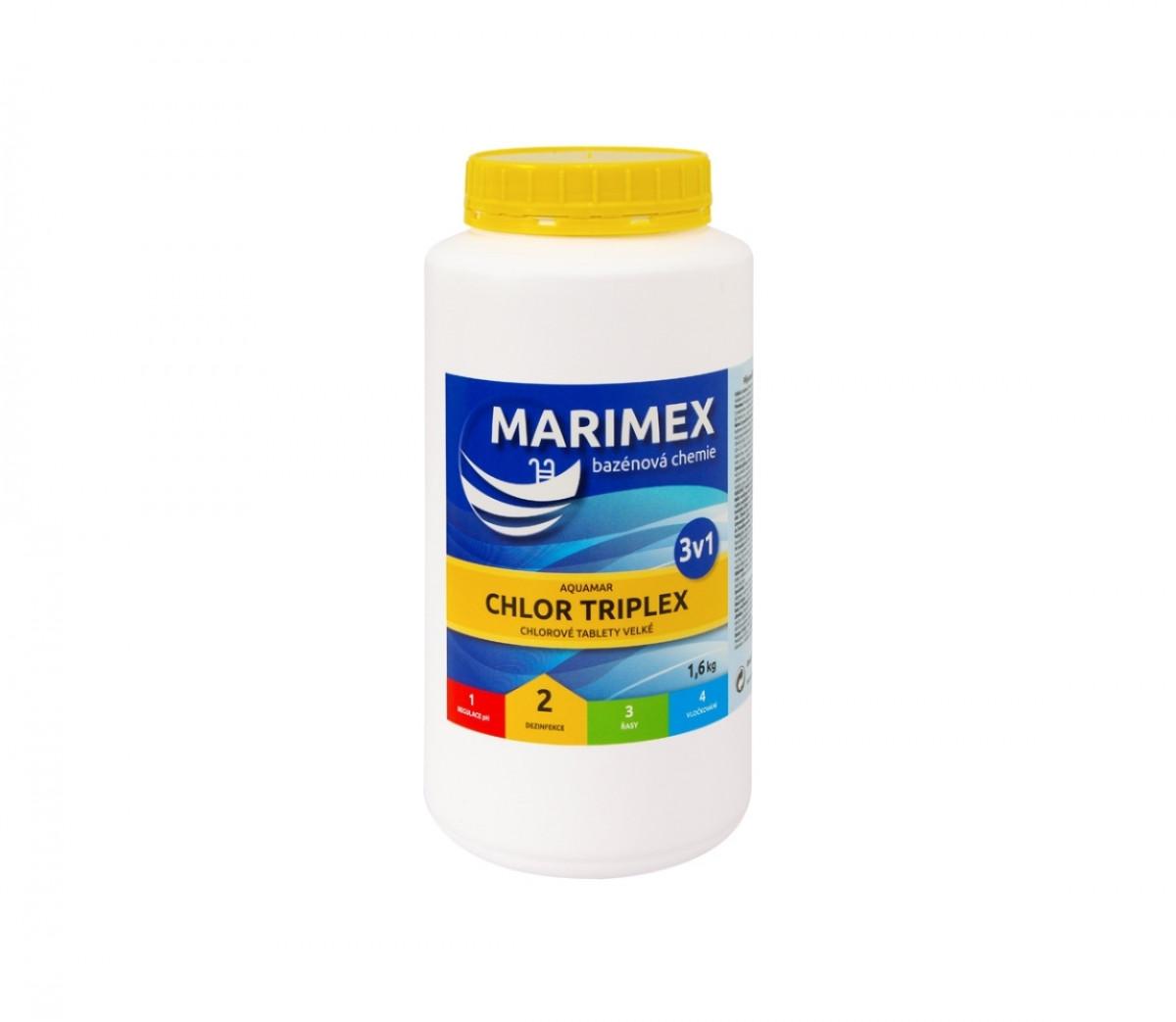 Marimex | Marimex Chlor Triplex 1,6 kg | 11301205