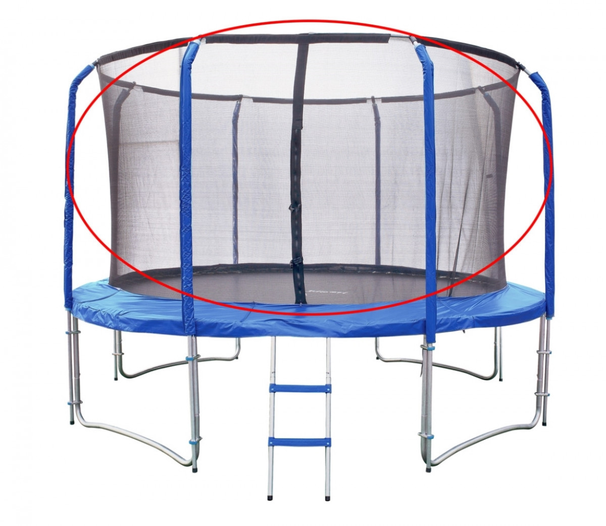 Marimex   Náhradní ochranná síť pro trampolínu Marimex 366 cm   19000571