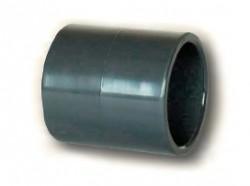 PVC nátrubek 75mm (spojka)