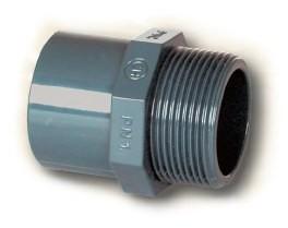 PVC přechod 50mm* 2