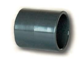 PVC nátrubek 50mm (spojka)