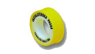 Teflonová páska 12mmx0.075mm/10m